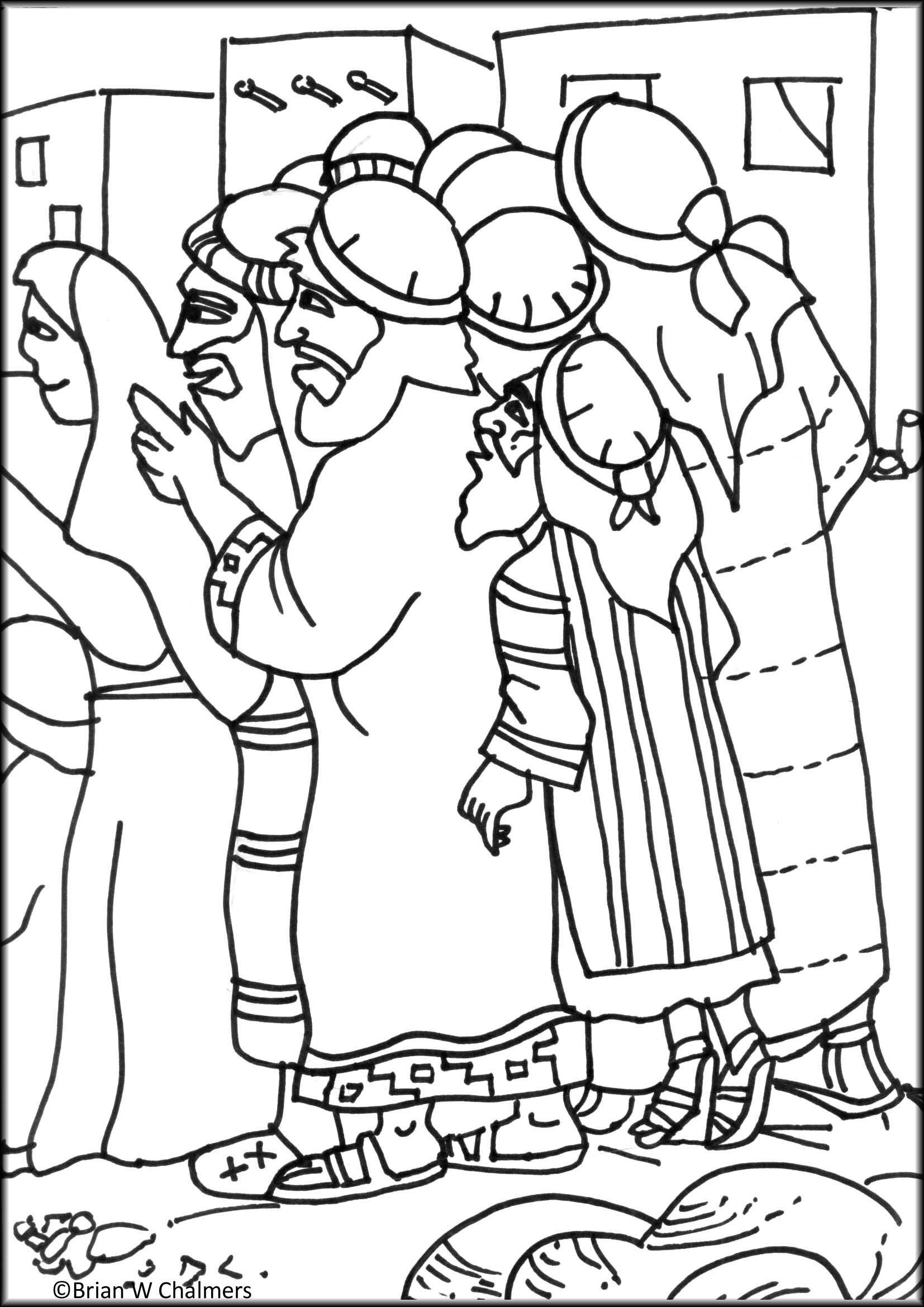 Zacchaeus Coloring Pages For Preschoolers Free Zacchaeus Coloring Page Kids Download Fre Jesus Coloring Pages Sunday School Coloring Pages Bible Coloring Pages