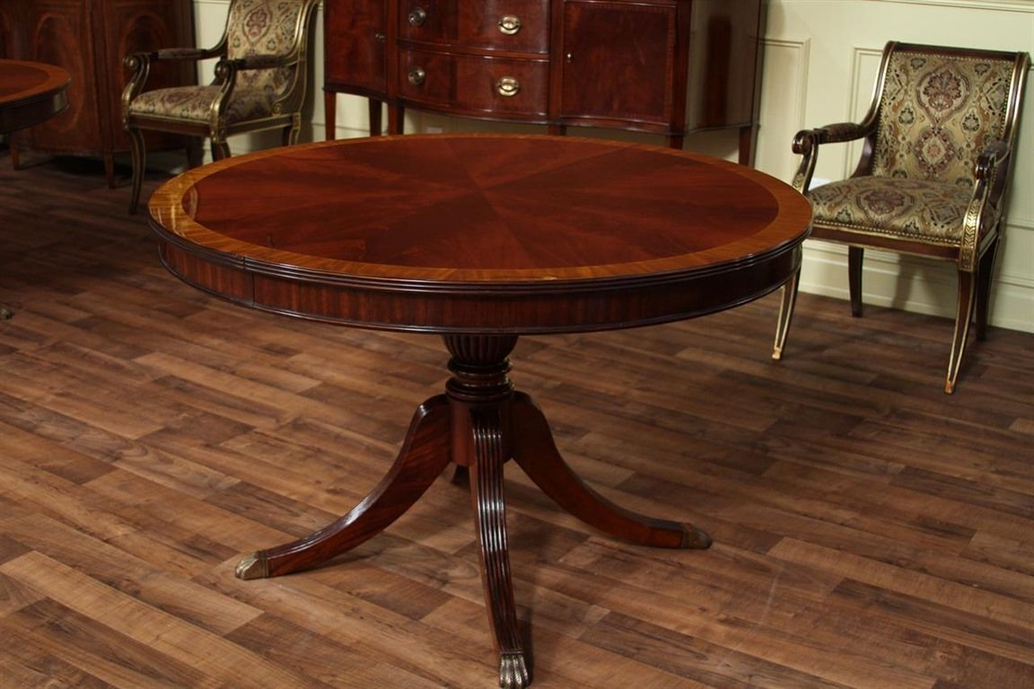Round Dining Table Everything You Need To Know Dengan Gambar