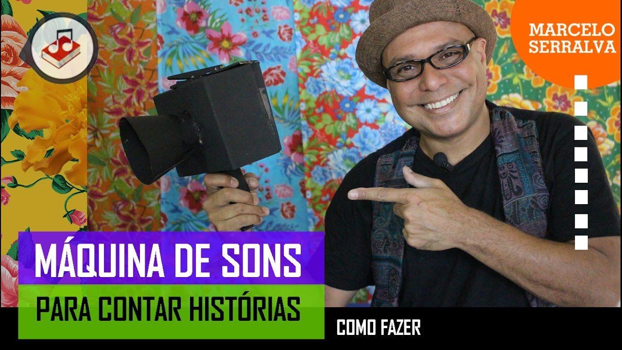 Como fazer uma máquina de sons para contar histórias - Canal Marcelo Ser...