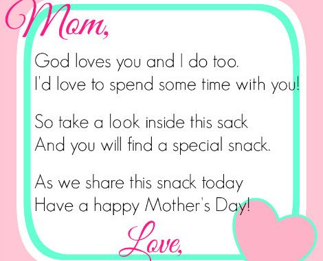 Mother's Day Poems Mothers day poems, Happy mothers day