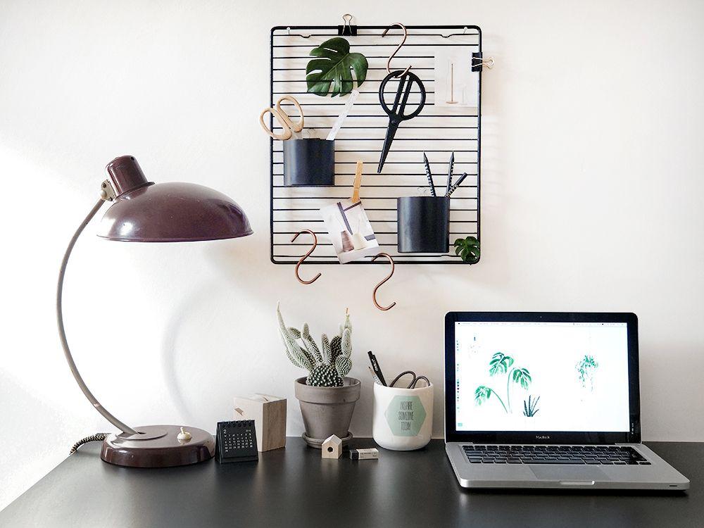 Alles Was Du Für Diesen Coolen DIY Schreibtisch Organizer Brauchst Hast Du  Garantiert Zu Hause.