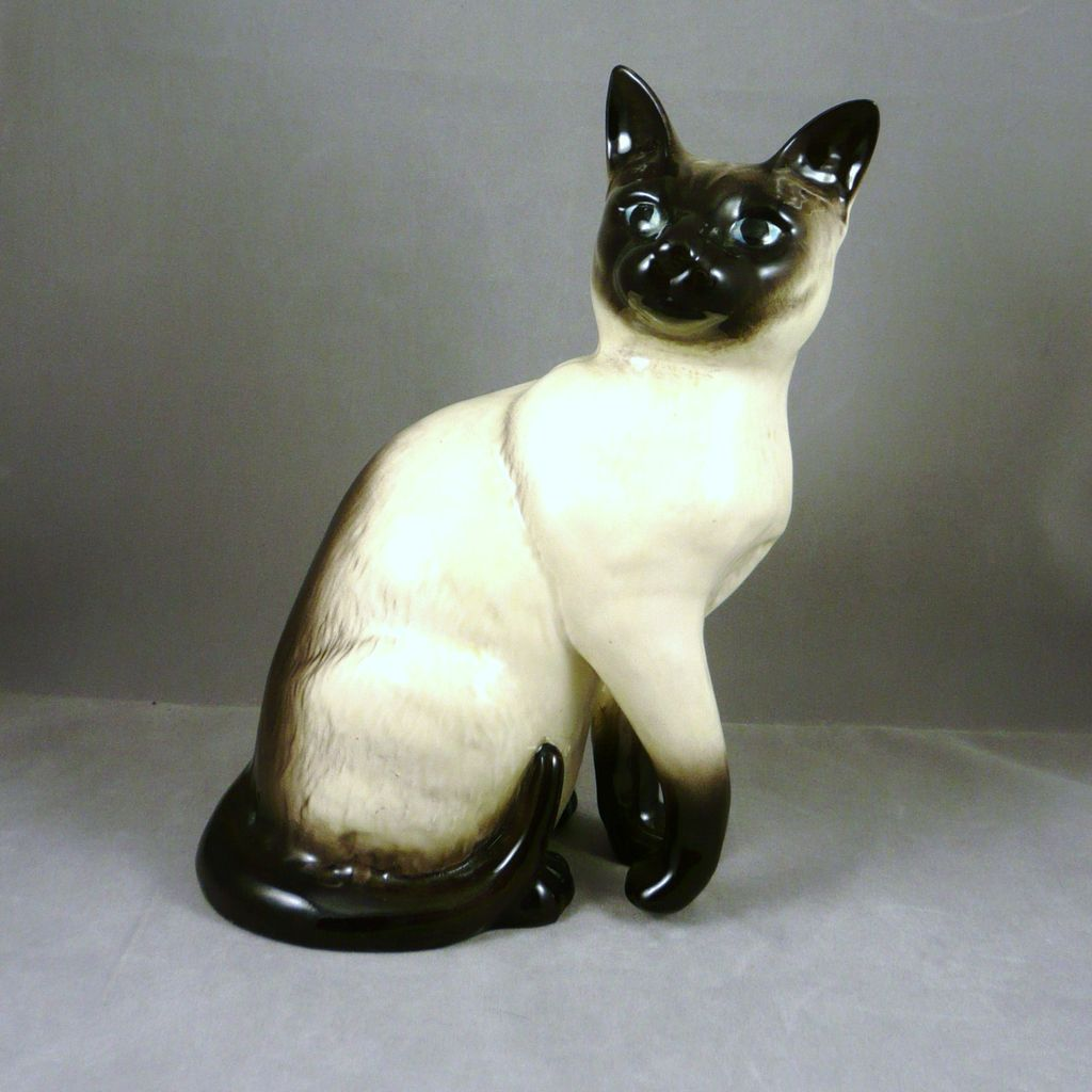 Piece Set Of Cats Ceramics