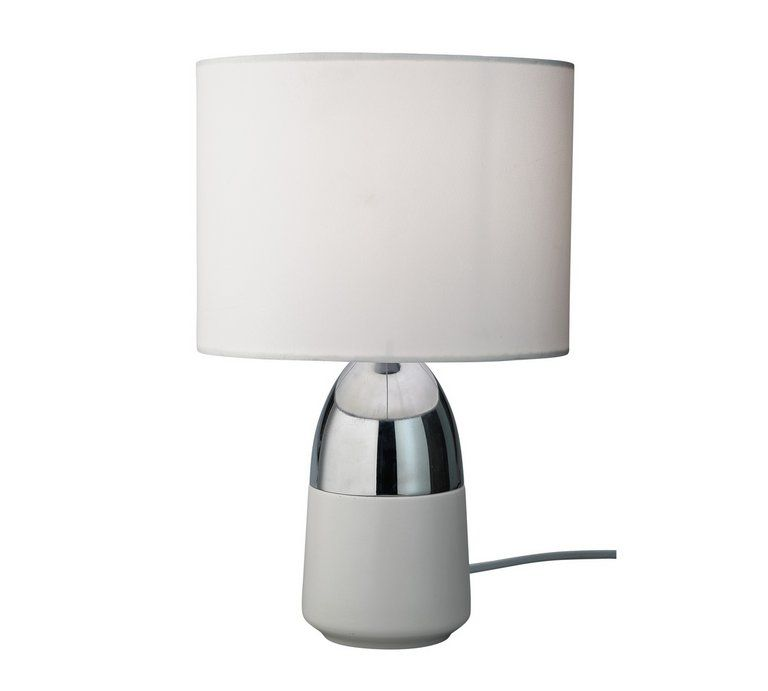 Home Duno Touch Table Lamp Chrome White White Table Lamp Touch Table Lamps Table Lamp