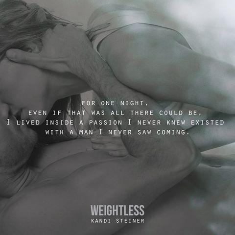 Kandi Steiner's review of Weightless
