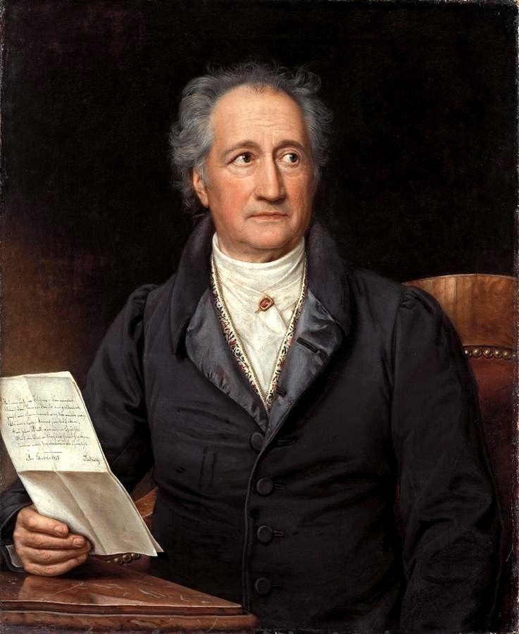 Johann Wolfgang Von Goethe Iq 210 German Poet Playwright