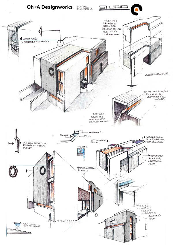 Architecture Drawings · Oh+A Designworks ...