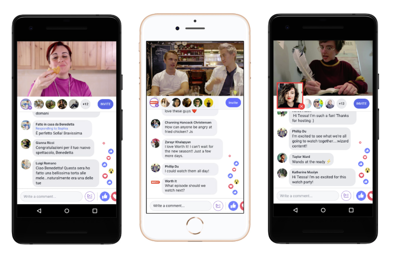 Facebook Rolls Out Watch Party Communal Video Viewing Option To All Profiles And Pages Watch Party Video Party