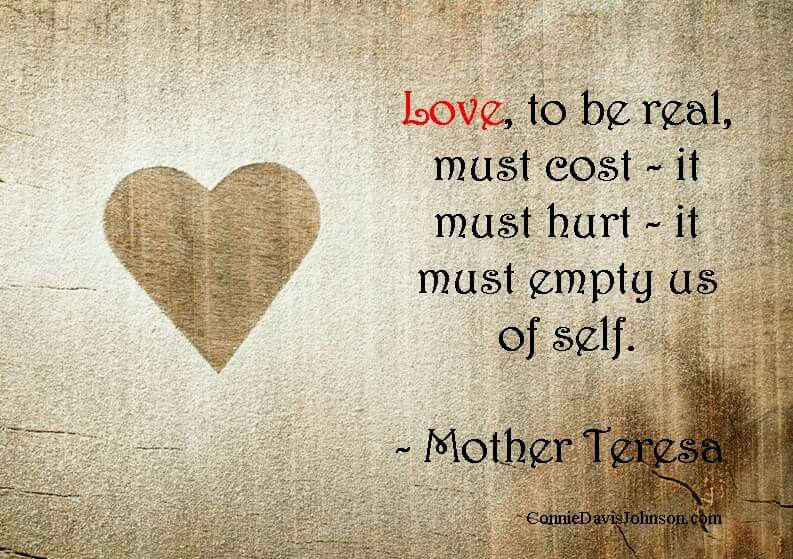 February 24: Todayu0027s Quote   Love Must Empty Us Of Self. #SaturdayWisdom #