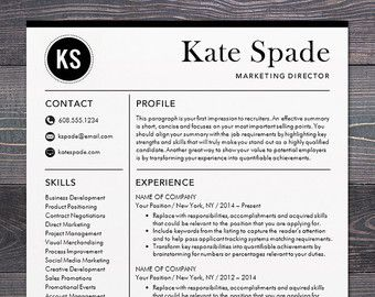 Free Mac Resume Templates Resume Template Cv Template For Word Mactheshinedesignstudio