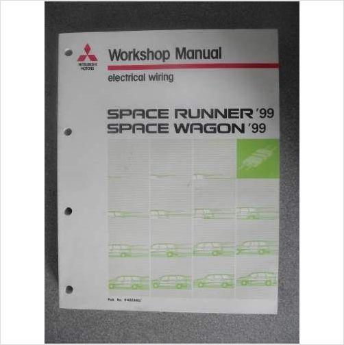 Mitsubishi Space Runner Wagon Electrical Manual Phde9802