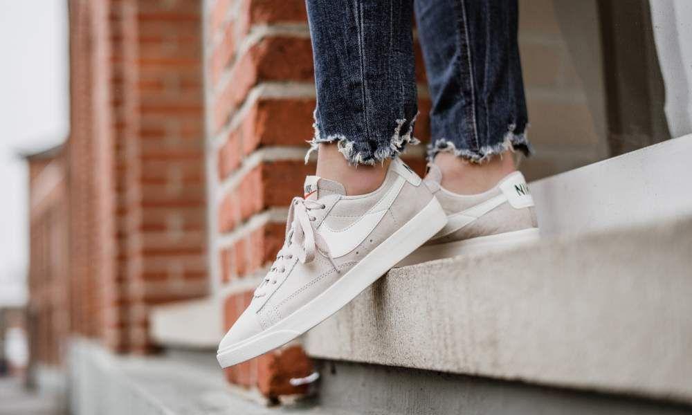 on sale ea3a7 4dcb7 Nike - WMNS Blazer Low SD (beige  weiß) - AA3962-005