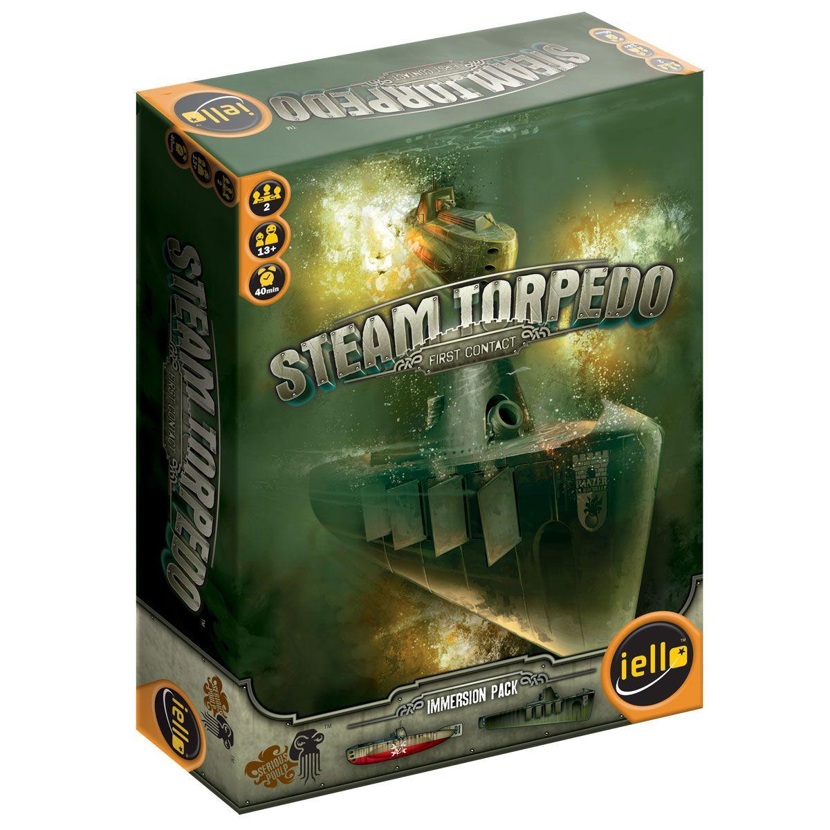 Steam Torpedo First Contact IELLO USA LLC