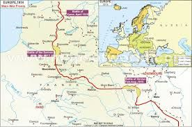 This A Map Showing The Major Battles Of Wwi The Battle Of Ypres April 1915 Battle Of Somme July 1916 Novembe World War I Battle Of The Somme Battle Of Ypres