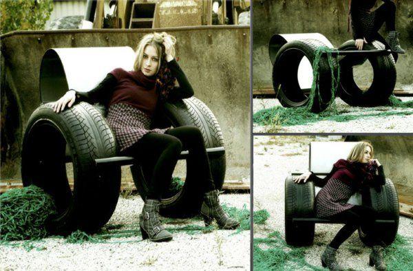 100 DIY Möbel aus Autoreifen - Altreifen Recycling | Pinterest ...