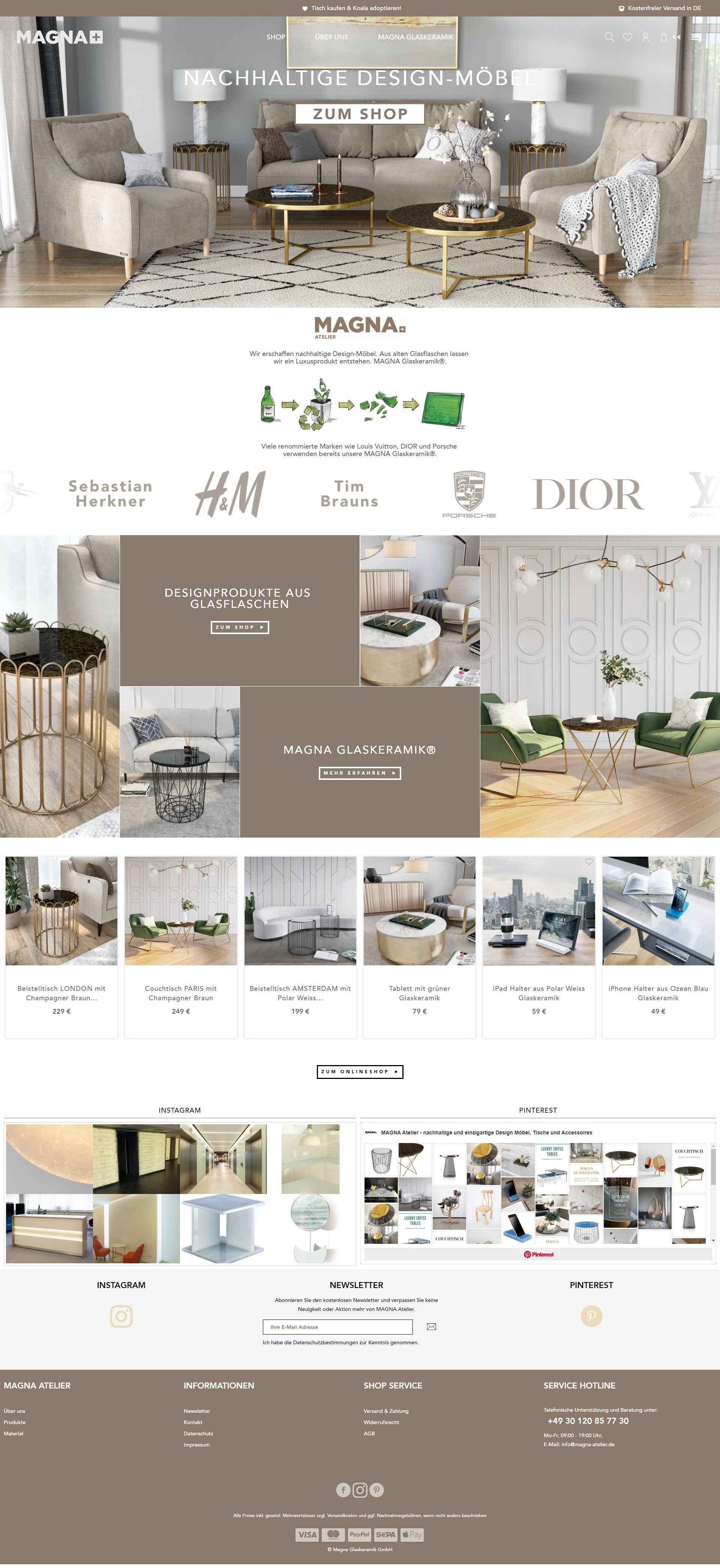 e-commerce shopware onlineshop webdesign templates design