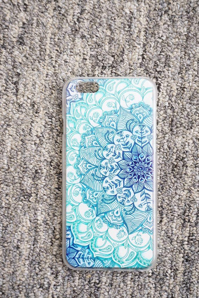 Ocean Mandala iPhone Case.