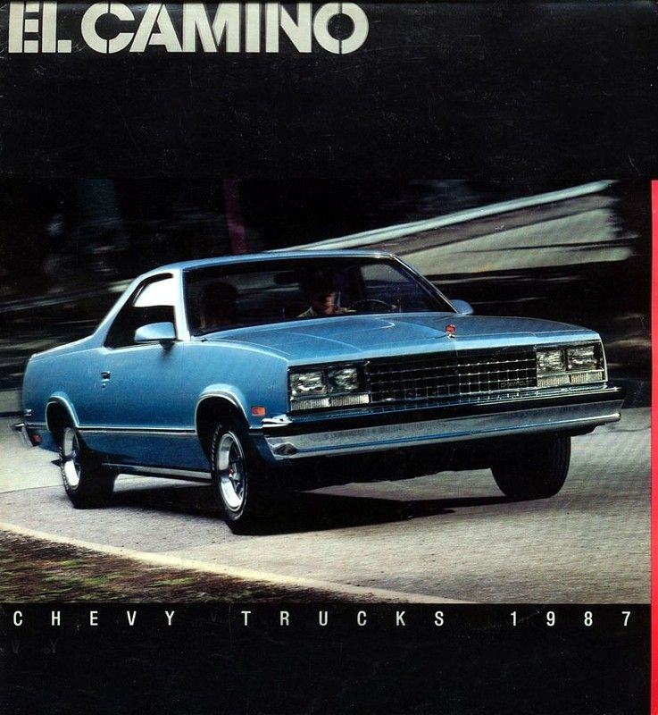 Buick Dealership Austin: 1987 Chevrolet El Camino-01