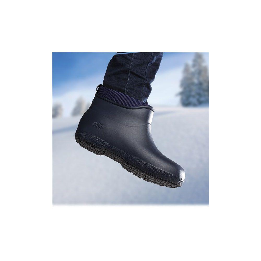 Nordic Grip Non Slip Boots in Navy