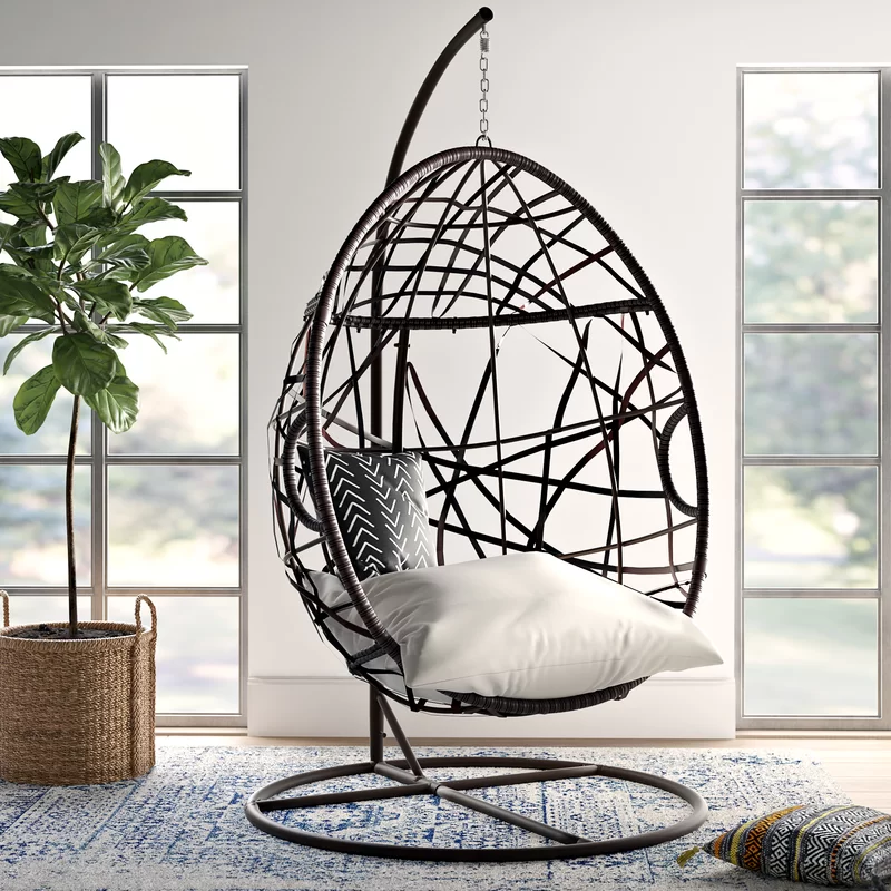 Anner Tear Drop Swing Chair with Stand in 2020 Swinging