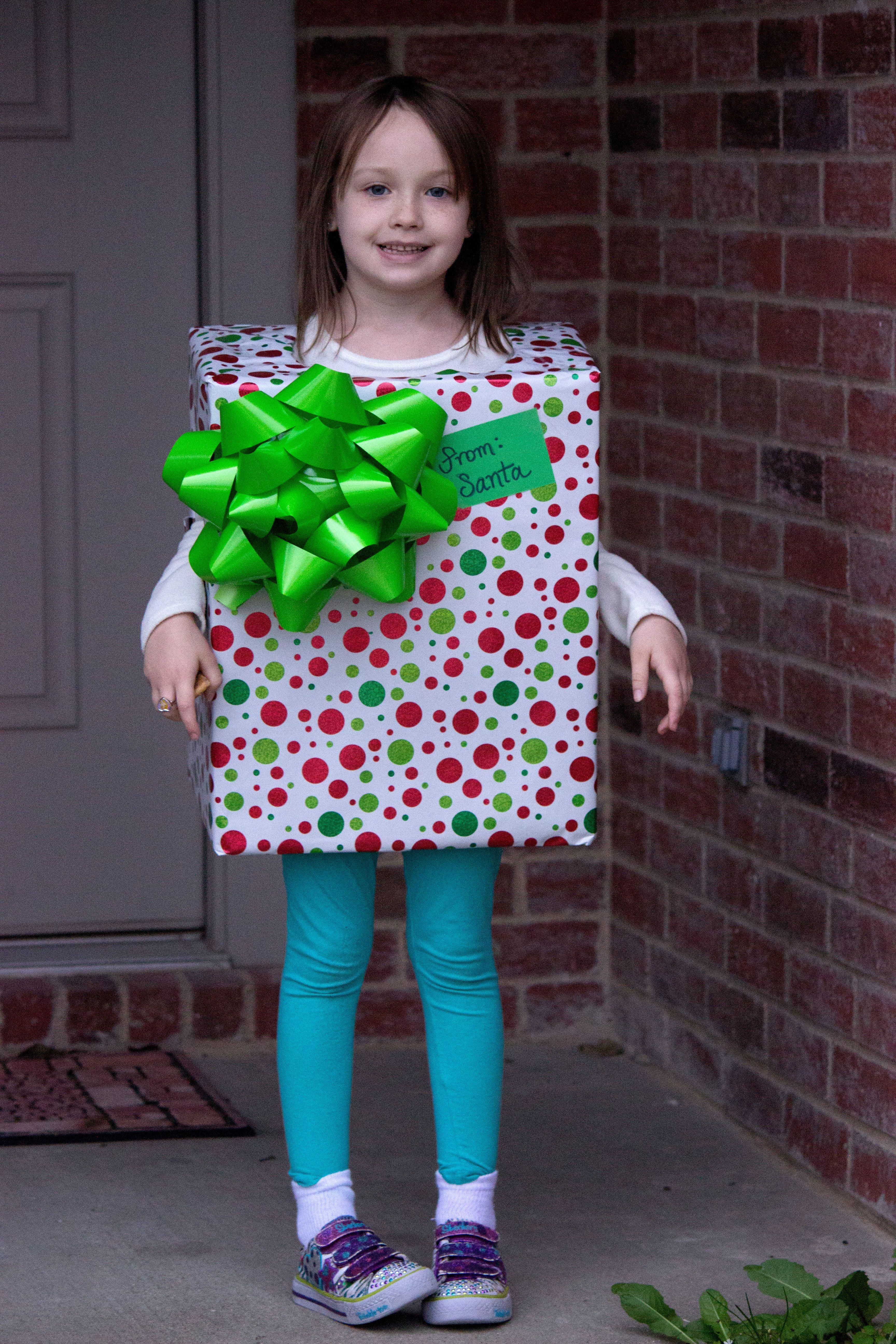 Disfraz de regalo disfraces caseros navidad - Disfraces para navidad ...