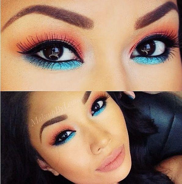 Turquoise undereye