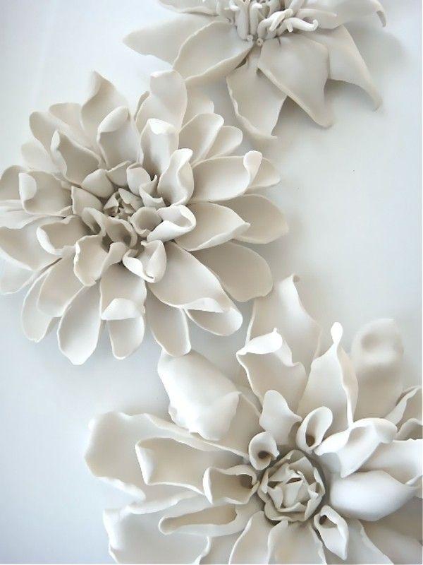Ceramic Flower Wall Art - Foter | bombay | Pinterest | Ceramic ...