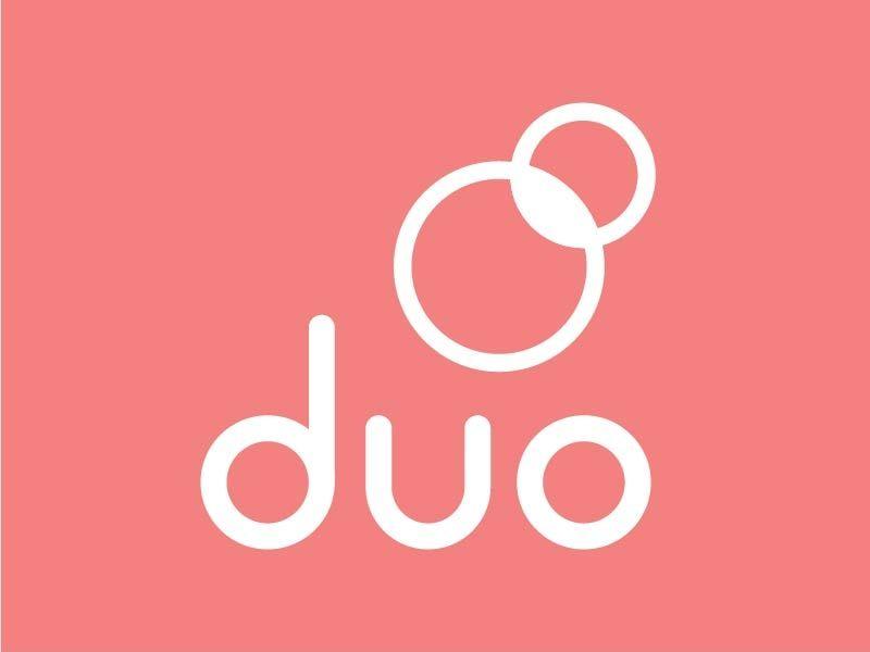 Duo logo logos duo logo design