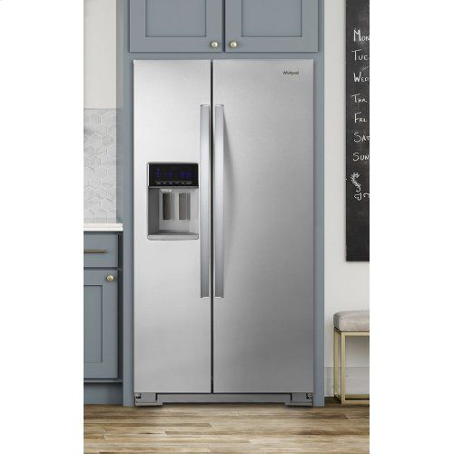 36-inch Wide Counter Depth Side-by-Side Refrigerator - 21 ...
