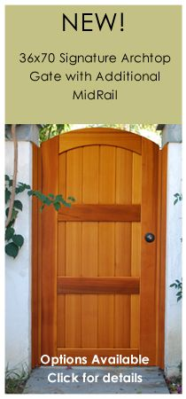 Pacific Gate Works   Builders Of Custom Garden Gates, Wood Driveway Gates  And Gate Hardware