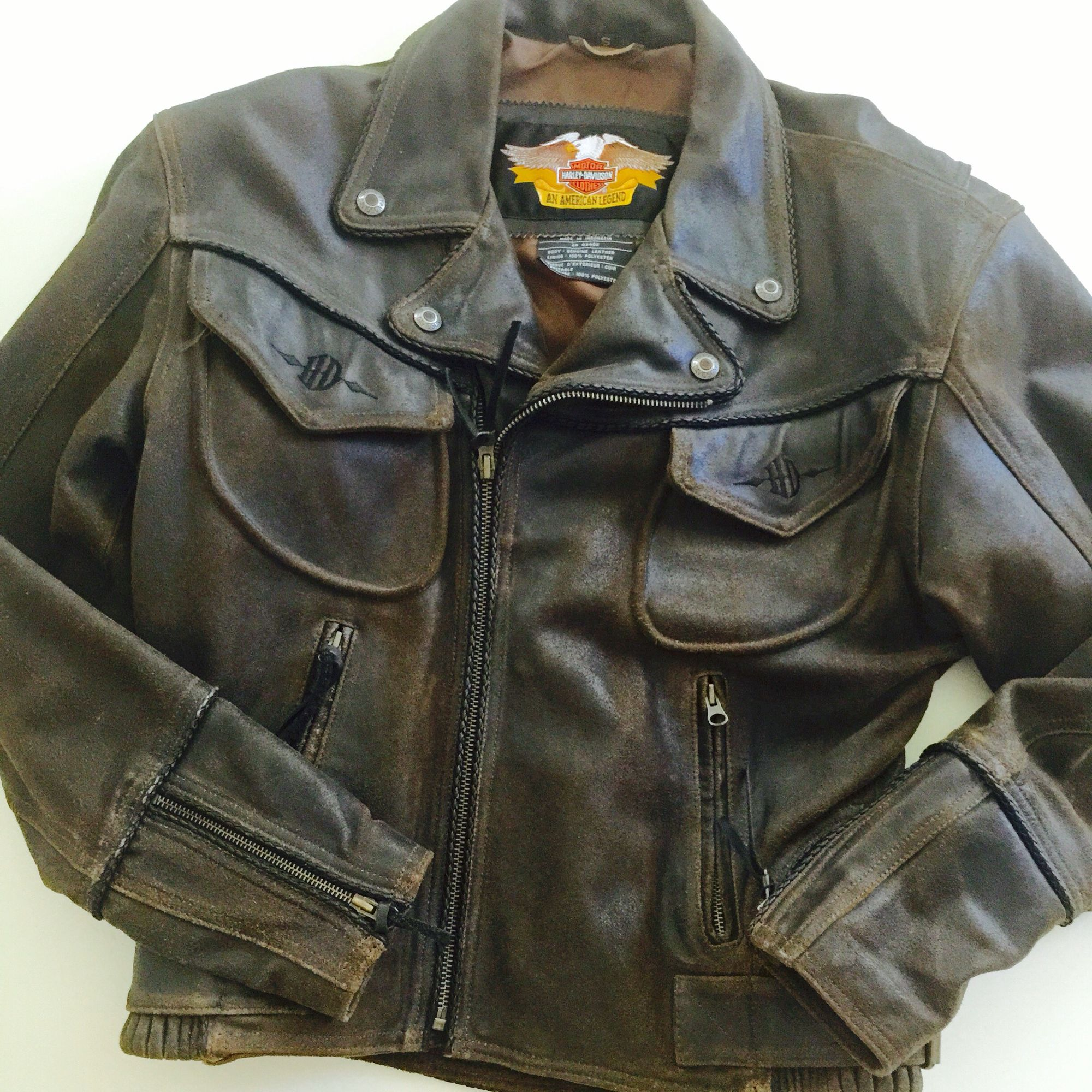 Vintage HarleyDavidson Billings Leather Jacket. See
