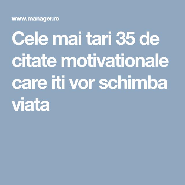 Citate motivationale despre viata
