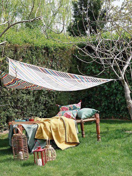 Relax a la sombra Toldo triangular, Velas de sombra y Sombras
