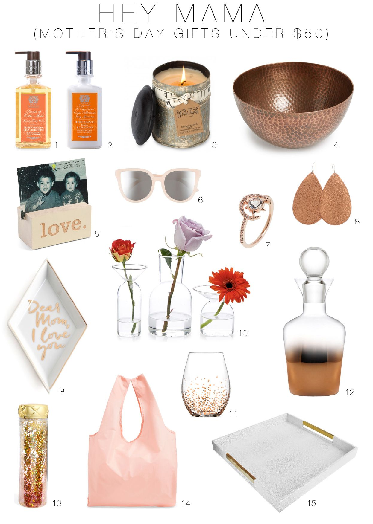 Gift Ideas For Mother S Day 50 Under 50 The Mom Edit Diy Gifts For Him Diy Gifts Gifts
