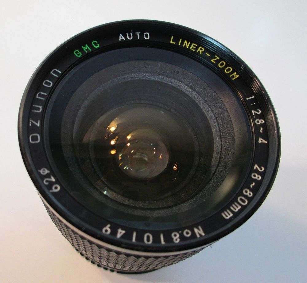 Ozunon Mc Auto Zoom F2 8 28 80mm Lens For Minolta Auto Electronic Products Charger Pad