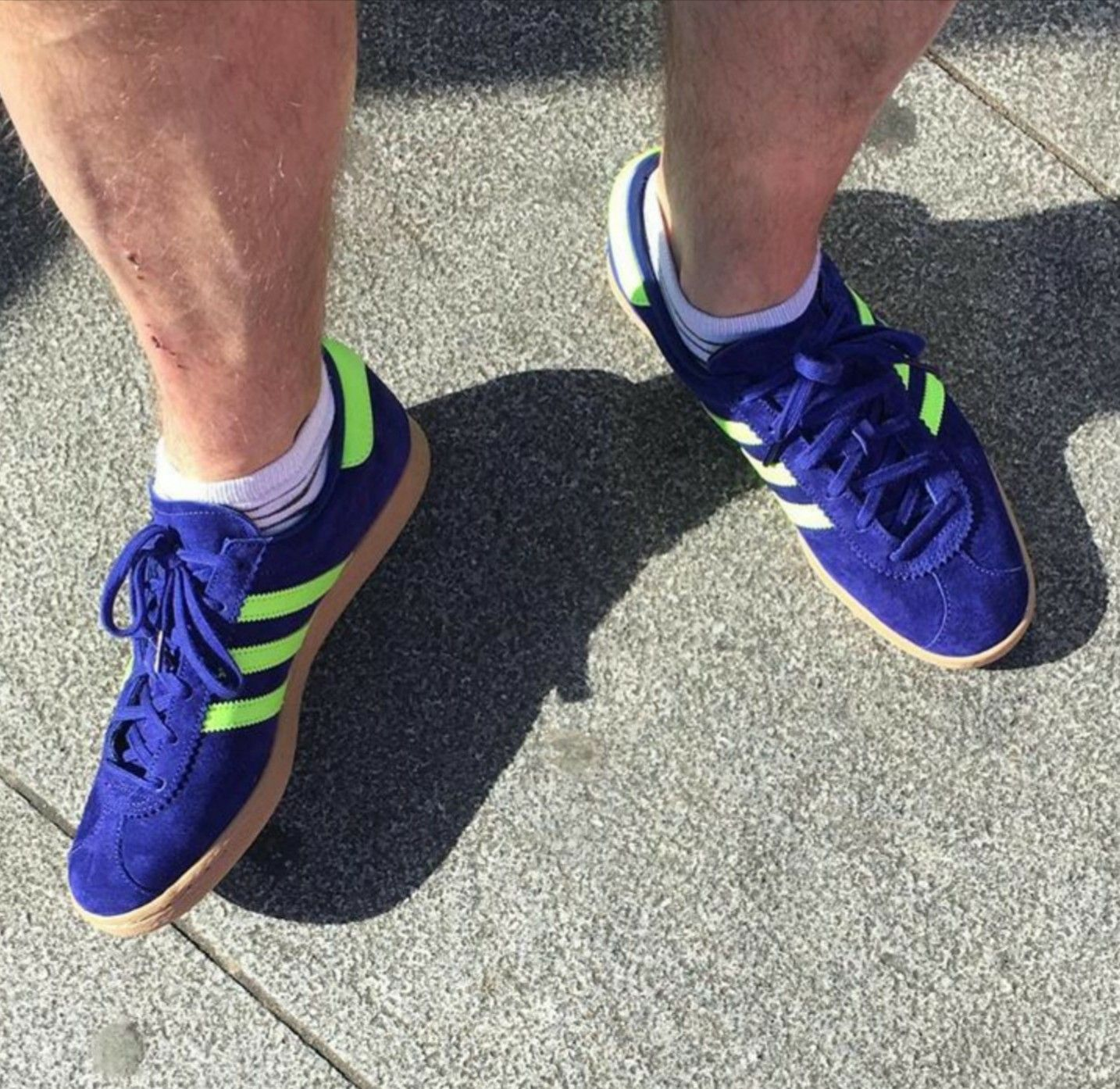 Adidas Stadt on feet on the street | Sneakers, Adidas