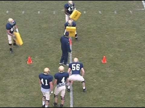 Notre Dame Lb Football Drills Football Drills Football Coaching