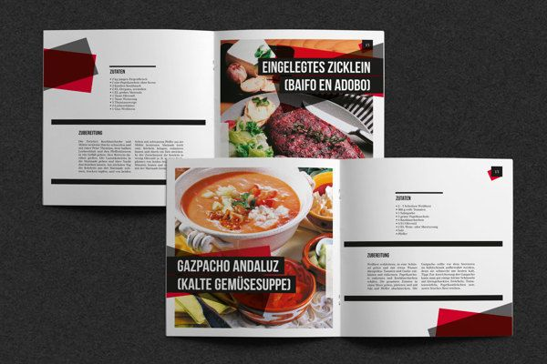 Restaurant Brochure Design Examples For Inspiration  JayceO