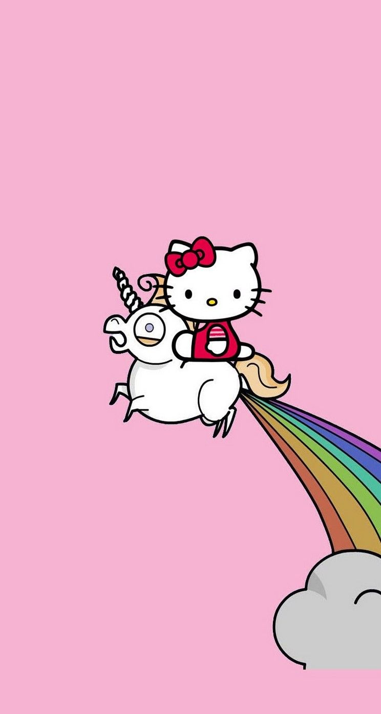 Hello Kitty Unicorn Cute And Pink Iphone Wallpapers Mobile9