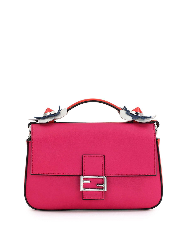 d741e4349b81 Fendi Baguette Micro Double-Sided Tricolor Bag