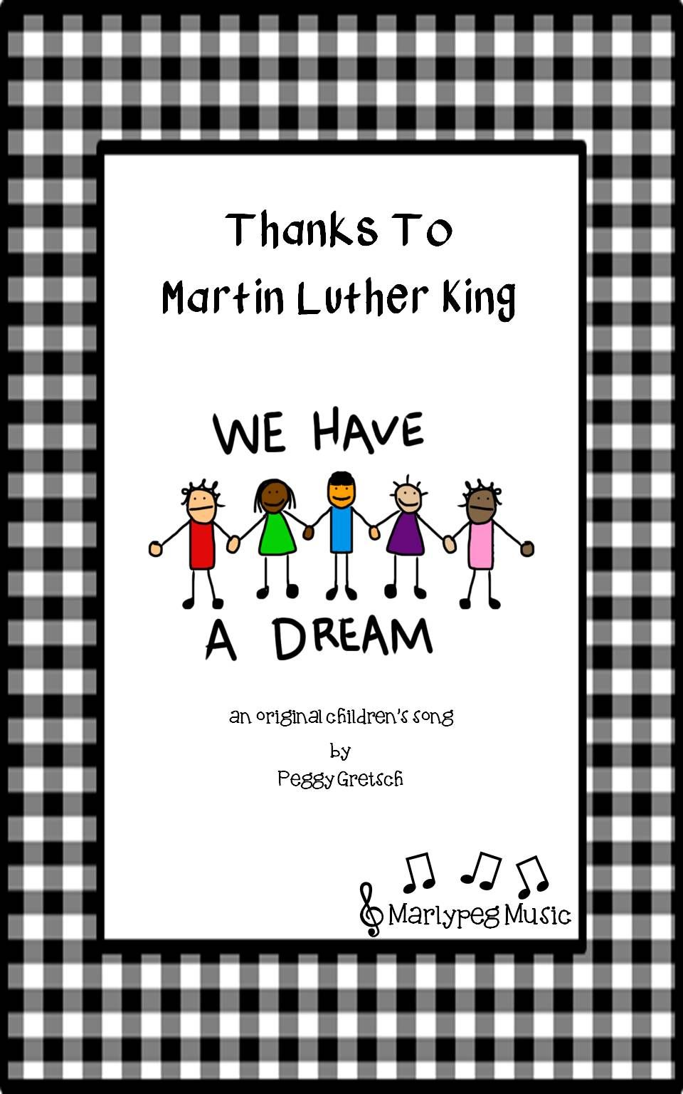 Marlypeg Music Proudly Presents Thanks To Martin Luther King A Simple Anthem Written Espe Elementary Music Classroom Elementary Music Class Elementary Music