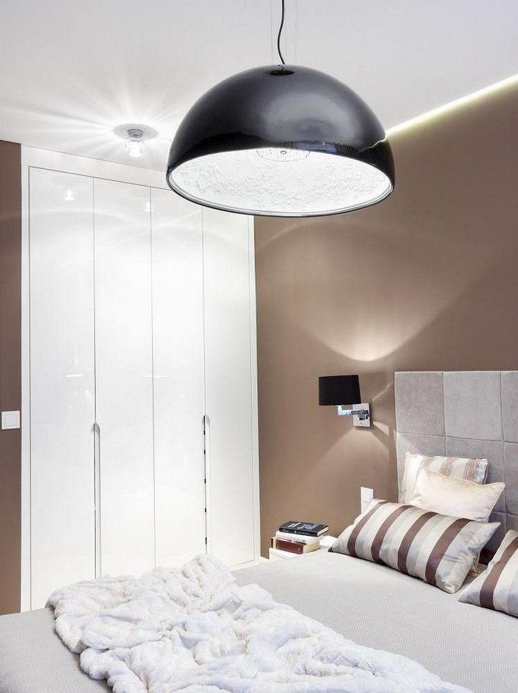 Moderne Schlafzimmer Farben Braun Vermittelt Luxus Und Komfort