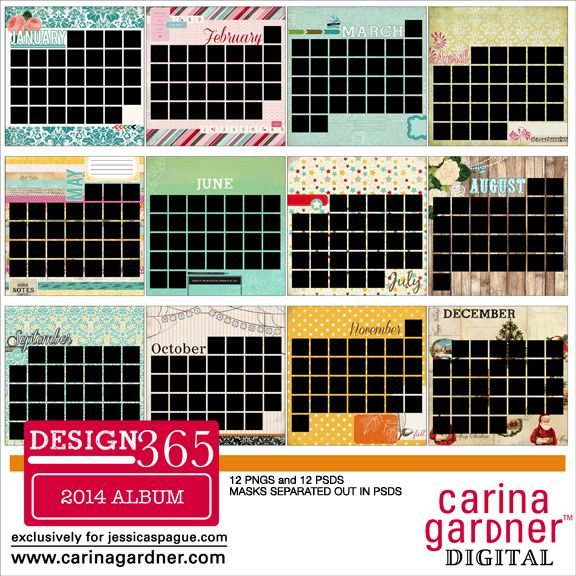 Snap Click Supply Co. - DESIGN 365 2014 A Year of Layouts Album, $4.99 (http://www.snapclicksupply.com/new/design-365-2014-a-year-of-layouts-album/)
