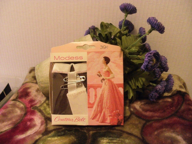 Vintage Modess Sanitary Napkin Contour Belt Adjustable Menstruation Collector Menstrual Period by CalliCatVintage on Etsy
