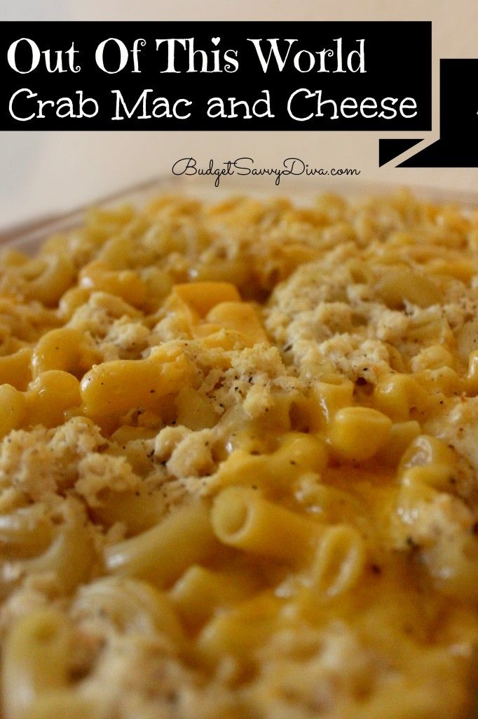 Out of This World Crab Mac and Cheese Recipe