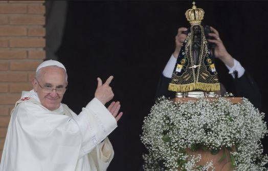 Peregrinação de Nossa Senhora Aparecida termina na quinta (09), no Pátio de Eventos http://goo.gl/CO4Y1E