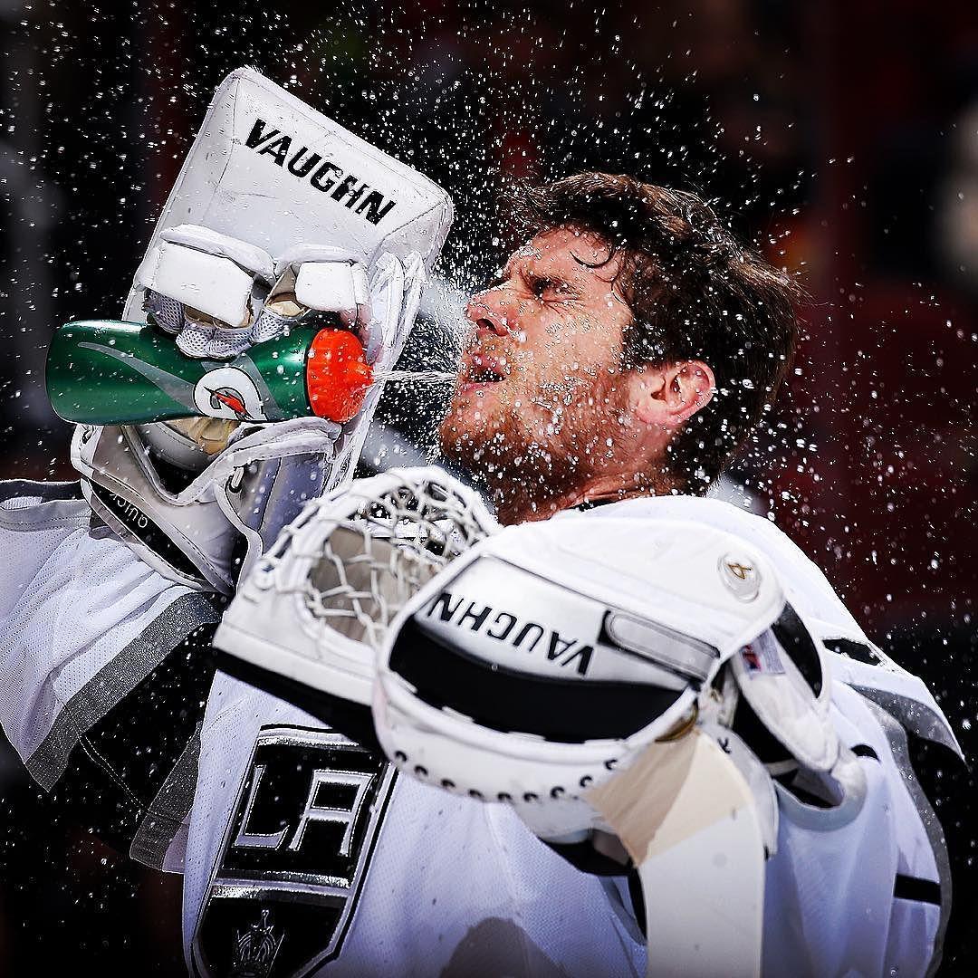 Nhl On Instagram Cool Down Los Angeles Kings Jonathan Quick Kings Hockey