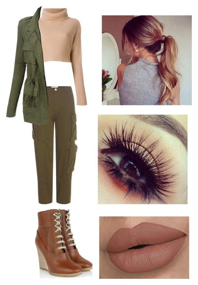 """""""Untitled #69"""" by kayd15-1 on Polyvore featuring Public School, Chloé and LE3NO"""