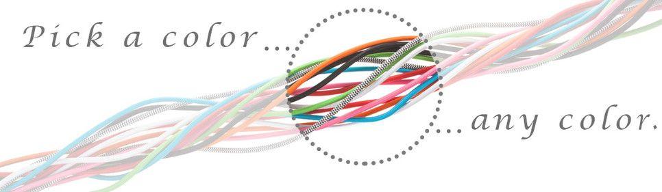 Color Cord Company - Color Pendant Light Cords, Fabric Covered ...