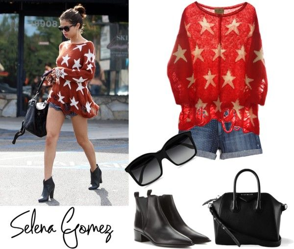 """""""Outfit inspired Selena Gomez"""" by cami-balan on Polyvore"""