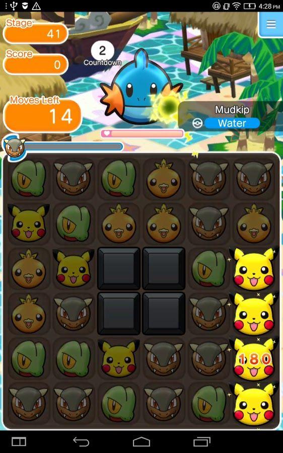 Pokémon Shuffle Mobile ~ Apps do Android